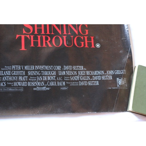 131 - Movie Poster for Shining Through - 1991...