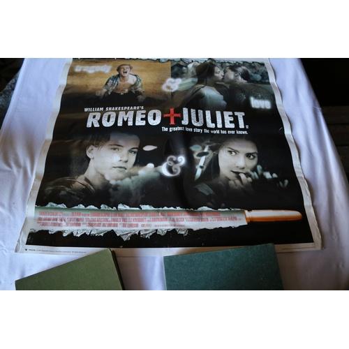 132 - Romeo & Juliet Movie Poster - 1996...