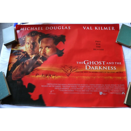 133 - The Ghost and the Darkness Movie Poster - 1996...
