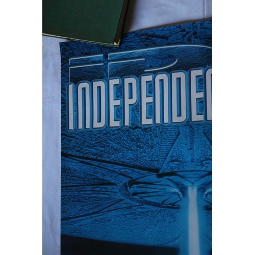 135 - Independence Day Video Release Poster - 1997...
