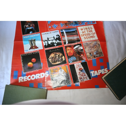 141 - Music Promo Poster for Paul McCartney Records & Tapes...