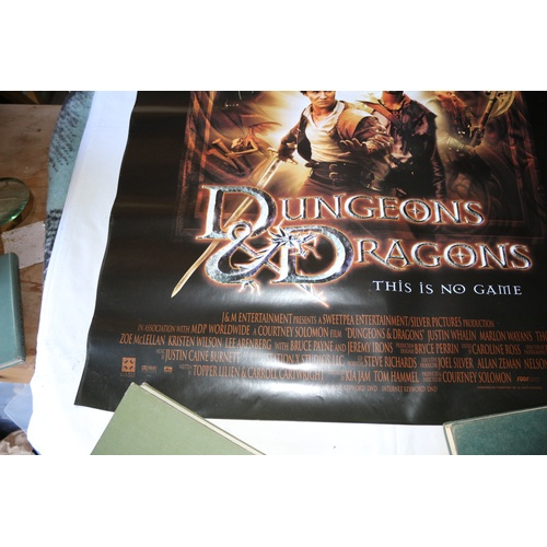 142 - Movie Poster for the Film - Dungeons & Dragons 2000...