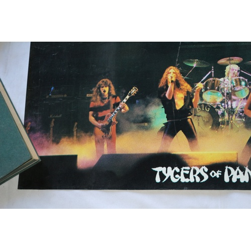 145 - Concert Promo Poster for the Band - Tigers of Pan Tang...