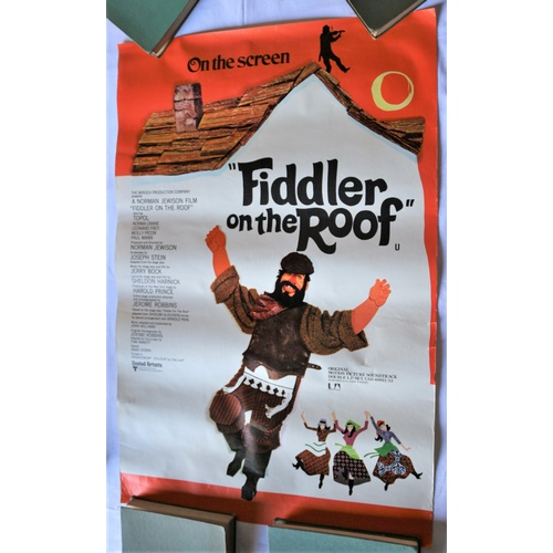 146 - Poster for the Vinyl LP Launch of Fiddler on the Roof...