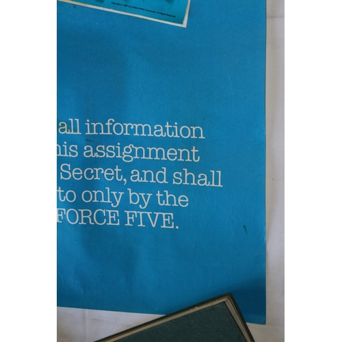 147 - 1st Promo Poster for the Cult Movie - Force Five - 1981...