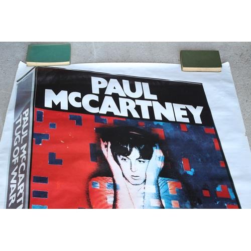 151 - Large Poster for Paul McCartney Album - Tug of War 1982...