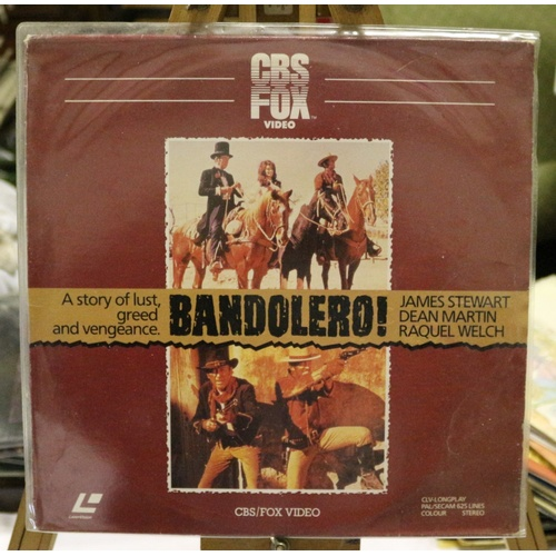 20 - Bandolero Laserdisc Movie...