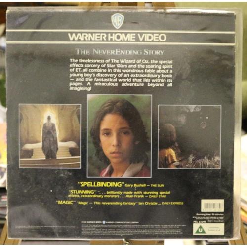220 - The Neverending Story Laserdisc...