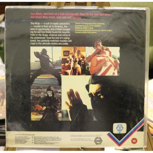222 - Revenge of the Ninja Laserdisc...