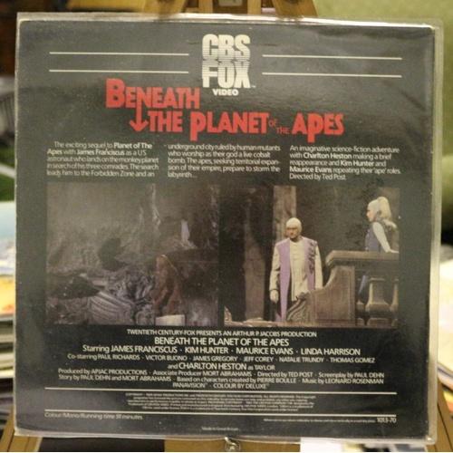 232 - Beneath The Planet of the Apes Laserdisc...