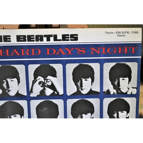 21 - Beatles - A Hard Day's Night - Hungary Pressing...