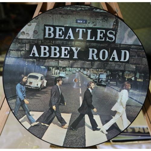 68 - Rare Beatles Abbey Road Picture Disc for Dutch Market...