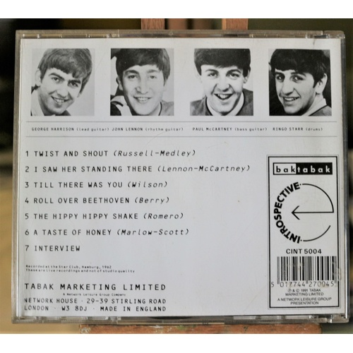 175 - The Beatles - Introspective Mono CD...