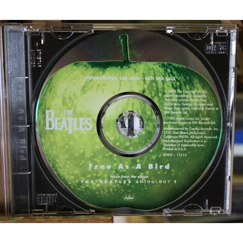177 - The Beatles - Free as a Bird Promo Single CD...