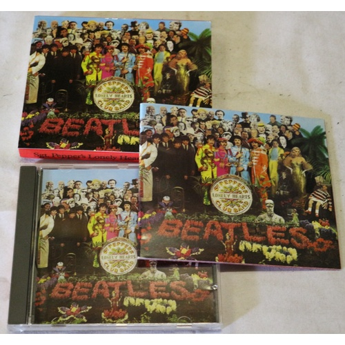 182 - The Beatles - Sgt Peppers Lonely Hearts Club CD...