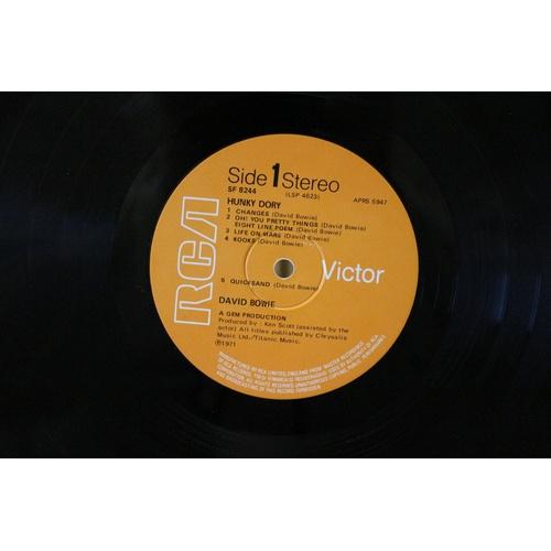 189 - David Bowie - Hunky Dory Vinyl...