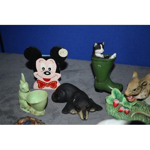 12 - Selection of Animal Inspired Figurines