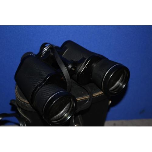 2 - 2 x Pairs of Boxed Binoculars - Hanimex 8 x 30 & Prinzlux 7 x 50