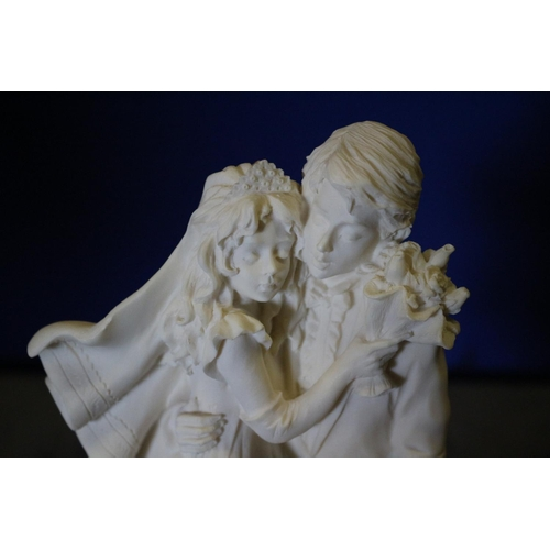 28 - Magic Moment Line Faro Collection from Italy Figurine of Newly Weds