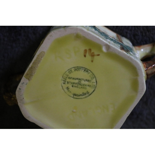 29 - Novelty Jam Pot plus Butter Dish - Keel St. Pottery and Empire Ware