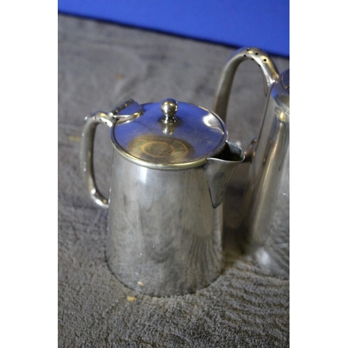 38 - 2 x EPNS Tea/Coffee Pots