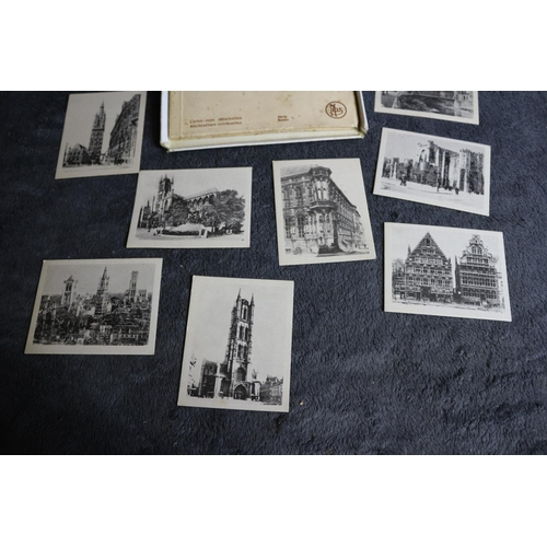 56 - Collection of Vintage Souvenir Photo Album Booklet of Bruges and Ghent