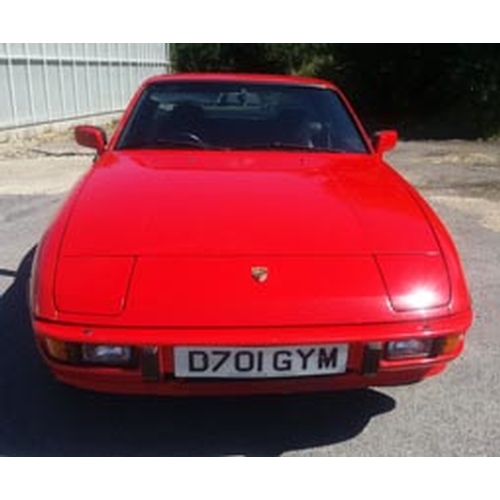 102 - 1987 Porsche 924S Registration No: D701GYM...