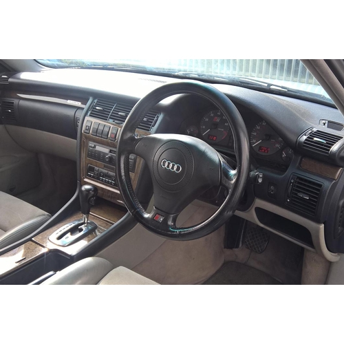 109 - 1998 Audi S8 Quatro Registration No: R27 XWJ...