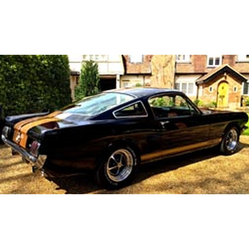 114 - 1965 Ford Mustang Fastback Registration No: HRZ 50...