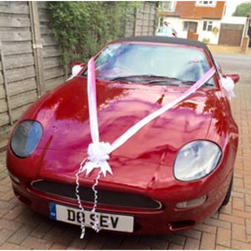 118 - 1996 Aston Martin DB7 Volante Registration No: D8 SEV...