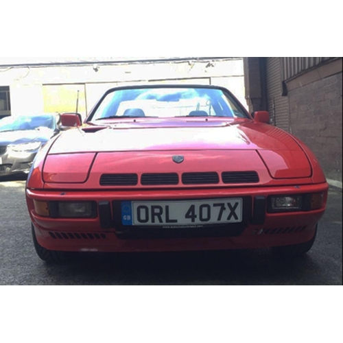 123 - 1982 Porsche 924 Turbo Mk2 Registration No: ORL 407X...