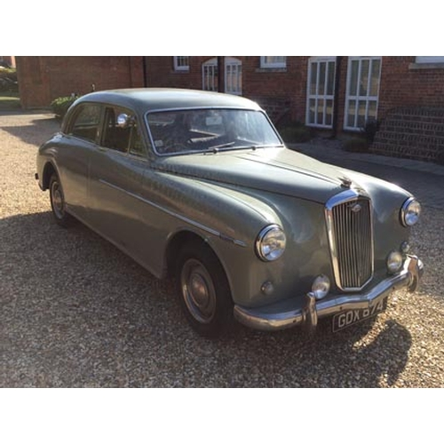 106 - 1958 Wolseley 6/90 Series III Registration No: GDX 874...