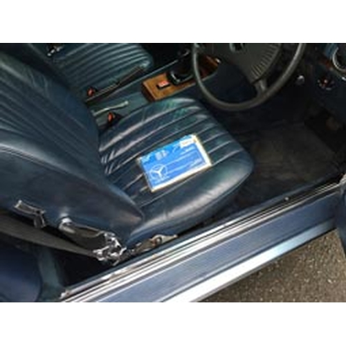 111 - 1979 Mercedes Benz 350SL Registration No: BUC 954T...