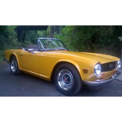 117 - 1971 Triumph TR6 Registration No: SVR 500K...