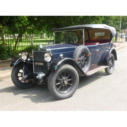 120 - 1927 Fiat Tipo 509 Tourer Registration No: SV 9304...