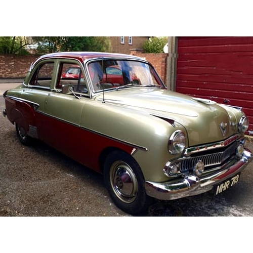 133 - 1956 Vauxhall Cresta Registration No: NHR 713...