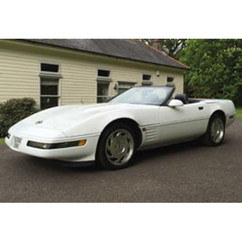 135 - 1995 Chevrolet Corvette Registration No: N244 BWK...