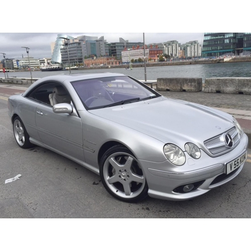 140 - 2003 Mercedes CL55 AMG Registration No: V55 KOM...
