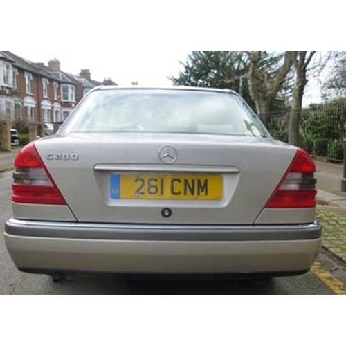 141 - 1995 Mercedes C Class 280 Elegance Registration No: 261 CNM...