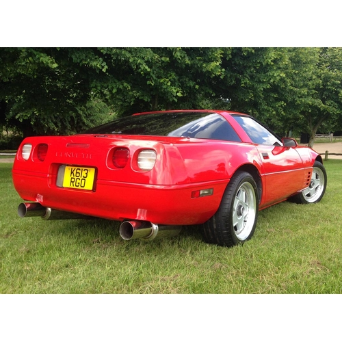 143 - 1993 Chevrolet Corvette Registration No: K613 RGO...