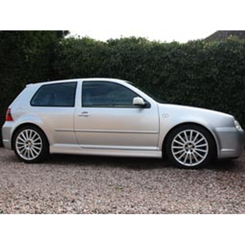 145 - 2003 Volkswagen Golf R32 Registration No: OU03NJV...