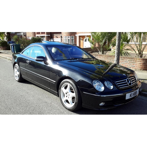 147 - 2004 Mercedes -Benz 500CL V8 Coupe Registration No: K1 HBB...