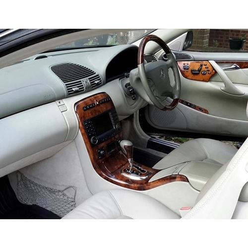 147 - 2004 Mercedes -Benz 500CL V8 Coupe Registration No: K1 HBB...