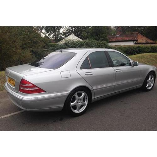 152 - 2001 Mercedes S500 AUTO Registration No: Y533 CAV...