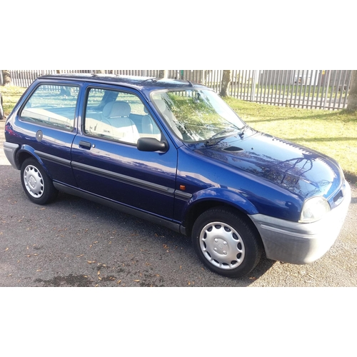 154 - 1997 Rover 100 Ascot Registration No: R477 JTE...