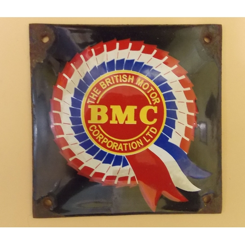 305 - BMC Rosette Advertising Sign...