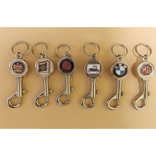 306 - Collection of 1960s Keyfobs...