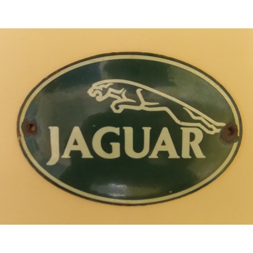 312 - Advertising Sign for Jaguar Cars...