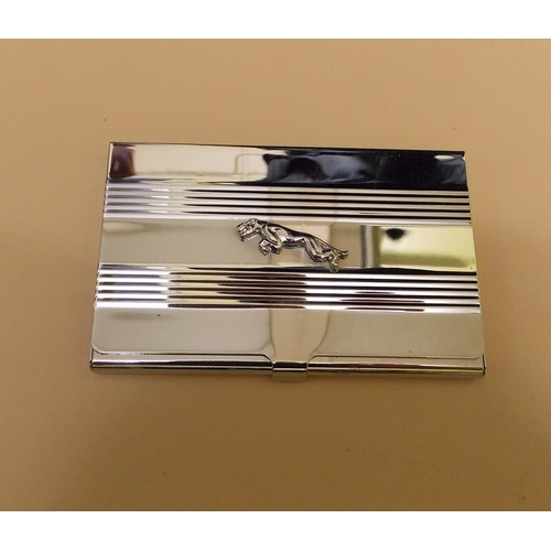 317 - Jaguar Salesman's Business Cards Case...