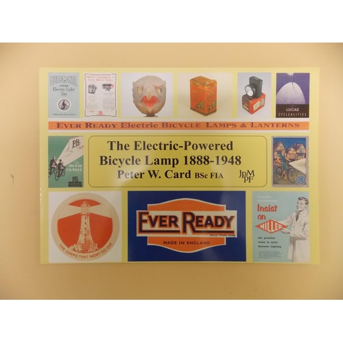 330 - The Electric Powered Bicycle Lamp 1888-1948 Book...